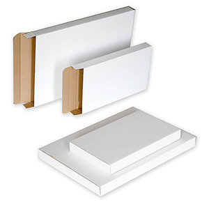 brievenbusdoos luxe wit A5 massief karton, doos 100 stuks