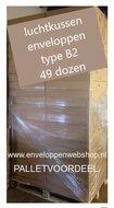 Pallet voordeel B2 luchtkussen enveloppen