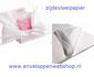 Zijdevloei tissue papier